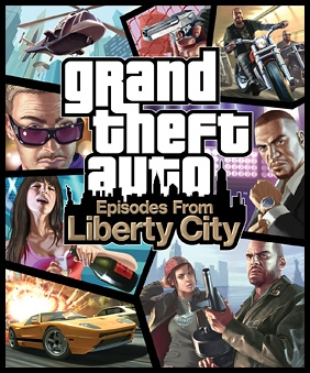GTA4 episodes from liberty city art