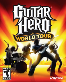 Guitar Hero World Tour game and accesories
