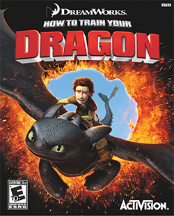 How to train your dragon video game